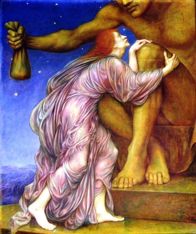 Evelyn de Morgan: The Worship of Mammon, Eigentum des De Morgan Centres London